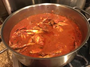 crab-sauce